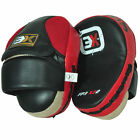 3X Sports Focus Pads Hook Jab Mitts Kick Boxing MMA Strike Punching Kick Curved