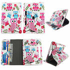 Universal Case for Samsung Galaxy Tab 4 10.1 Leather Folio Stand ID Slots Cover