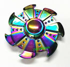 Tri-Spinner Fidget Aluminum Hand Finger Spinner Desk Toys Wholesale