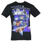 Transformers Mens T-Shirt -  Decepticon Megatron Four Action Bar Cartoon Images - Time Remaining: 8 days 35 minutes 17 seconds
