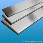 Edelstahl Flachmaterial Band 30 x 8 mm L: 300 - 1800 mm V2A geschliffen 1.4301