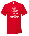 Keep Calm I'm A Smoggie Town City Nicknames Novelty Fun T-shirt