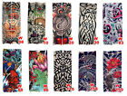 10 PCS Mixed Styles Fake Temporary Tattoo Sleeve Arm Stocking Cosplay Tribal