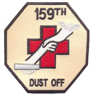 US Army 159th Medical Detachment Air Ambulance Hilicopter Patch DUSTOFF