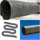 """4"""" Flexible Duct Hose 4 inch PVC DUCTING Air HOSE 35ft EXHAUST AIR VENT Fan Pipe"""