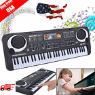 54 / 61 Keys Digital Music Electronic Keyboard Electric Piano Key Board Gift US