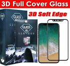 3D Full Screen HD Soft Edge iPhone 8,Xs,X,7,7+ Tempered Glass Screen Protector