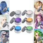 Disposable Styling Hair Wax Pomade Hair Style Natural Hairstyle Cream 6 Color LJ
