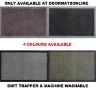 Dirt Trapper 40cm x 70cm Washable Absorber Door Mat 4 COLOURS AVAILABLE