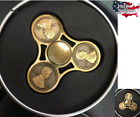 FIDGWT SPINNER HAND TOY STRESS REDUCER - EDC DESK FOCUS ADHD PENNY COIN BEARINGS