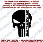 The Punisher #9 VINYL DECAL Car Truck Window Wall Skull  Military Rebel Redneck