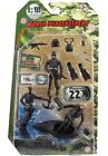 World Peacekeepers 3 Action Figures plus Accessories 1:18 Scale Various Sets