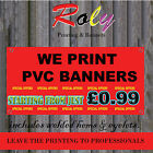 2.5ft X 6ft £9.99 OR LESS -  PVC VINYL PRINTED BANNERS- FREE DELIVERY