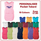 Personalised Tabard Uniform Work Wear Cleaning Salon Hairdressing Catering Apron