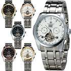Splendid Moment! New Date Year AUTO Tourbillon Men's Stainless Steel Wrist Watch