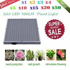 #Wholesale# LOT 1~50pcs Portable 225 LED 14W 700lm Grow Light Panel Quad-band BP