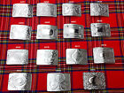 Внешний вид - Scottish Kilt Belt Buckle In 15 Designs - Kilts Belts Buckle