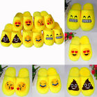 Indoor Warm Emoji Slippers Cute House Slippers Smiley Emoticon Women Mens Shoes