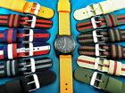 2 PIECE MILITARY STYLE DOUBLE THICKNESS WATCH BANDS,PRICED FOR BULK/NON-US SALES