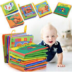 Boys Baby Toy Intelligence Cloth Book Educational Cognize Gilrs Bed Development