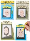 Magnetic Fuzzy Face Novelty Gift Fun Magnet Picture Design Kids Adult Toy Gadget