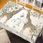 3D Giraffe 89 Tablecloth Table Cover Cloth Birthday Party Event AJ WALLPAPER AU
