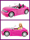 BARBIE Glam Convertible Car Doll Mattel Vehicle Toy for Girls Fun Play Pink NEW