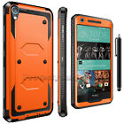 Hybrid Shockproof Rugged Armor Holster Stand Cover For HTC Desire 530 Case
