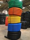 Black, Blue, Yellow, Green, Flexible Twinwall Cable Ducting with Drawstring