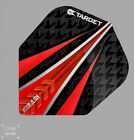 Target Vision Ultra 2 Red Extra Strong Standard Shape flights 1x3 or 5x3 Pack