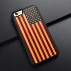 American flag Natural Wooden Wood Cases For iPhone7 7plu 6 6 plus 6s 6s plus