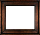 "4.75"" WIDE Brown dark Bronze Oil Painting Wood Picture Frames4art 20MG"