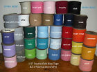 """12 Yards EXTRA WIDE 1/2"""" Double Fold Bias Tape **33 COLORS** Wholesale"""