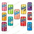 Fanta Naturally flavored American Soft soda Drink 355ml