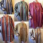 New Grandad Collarless Tunic Hippy boho Free size t shirt Kurta Shirt Men Loose