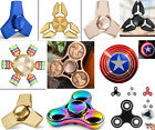 Tri Fidget Hand Spinner Triangle Various Brass Finger Toy EDC Focus ADHD Autism
