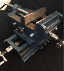 Compound Vice - 100mm, 125mm or  150mm Jaw Width. 2 Axis Positioning.