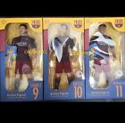 "Messi 10 Suarez 9 Neymar Jr 11 FCB Barcelona Official Limited 12"" Action Figure"