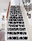 3D Black Spots 260 Stairs Risers Decoration Photo Mural Vinyl Decal Wallpaper US