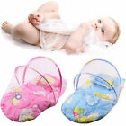 Foldable New Baby Cotton Padded Mattress Pillow Bed Mosquito Net Tent XP
