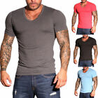 7051 Jack & Jones Herren Basic V-Neck T-Shirt Shirts kurzarm Shirt