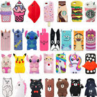 phone cases for xperia m2 - Hot 3D Cute Cool Cartoon Soft Silicone Phone Case Cover Back For Various Phones