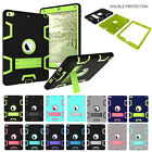 "Shockproof Heavy Duty Rubber+hard Stand Case For Ipad 2/3/4 Mini /pro 9.7""/ 2017"