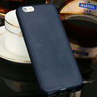 Luxury Ultra Thin Leather Soft TPU Case Back Cover For Apple iPhone 5S 6S 7 Plus