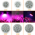 E27 15W-54W LED Grow Light Full Spectrum Hydroponic Vegs Plant Growing Lamp Bulb