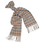 Aquascutum Scarf Casuals Lambswool - Vicuna Check