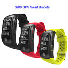 S908 GPS Smart Band Bracelet Heart Rate Sleep monitor pedometer touch screen