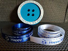 ***No 1 Chelsea Football Fan Cake Ribbon or Gift Wrap 25mm x 1 meter Any Name**