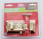 YALE TYPE TRADITIONAL NIGHT LATCH & CYLINDER  ERA Extra Keys Available POST FREE