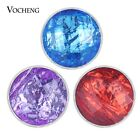 20pcs/lot 6 Colors Resin Ginger Snap Charms 20mm Snap Button Jewelry  Vn-1831*20